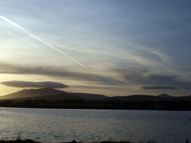 sunset in dingle